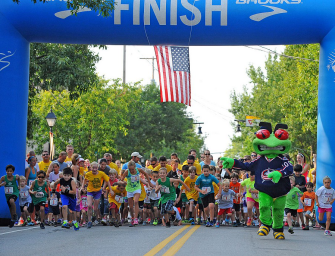 The IGS Energy/Dublin Irish Festival 5K and Kids Dash to Kick Off  Festival Weekend