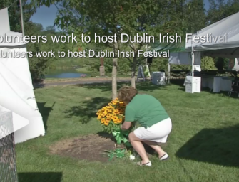 Volunteers honor lost loved ones at Dublin Irish Festival