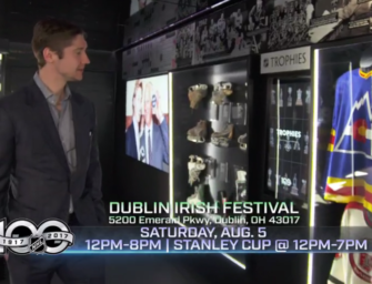 CBJ/NHL present the NHL Centennial Fan Arena at the Dublin Irish Festival