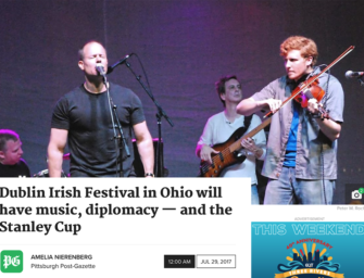 Dublin Irish Festival in Ohio will have music, diplomacy — and the Stanley Cup