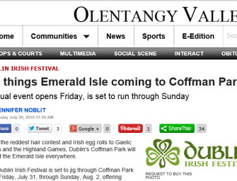All things Emerald Isle coming to Coffman Park